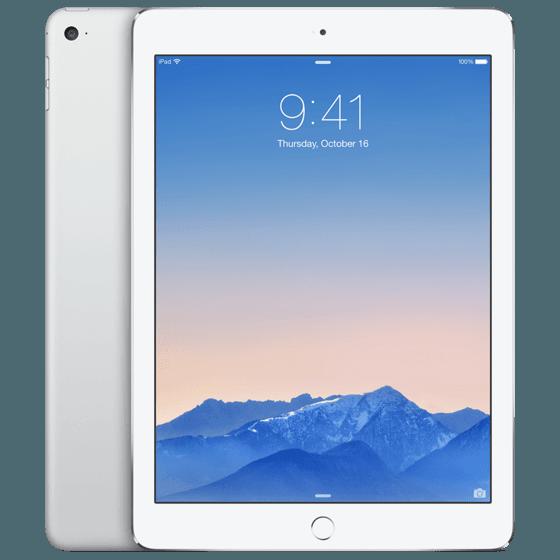 iPad Air 2 64GB Zilver Wit
