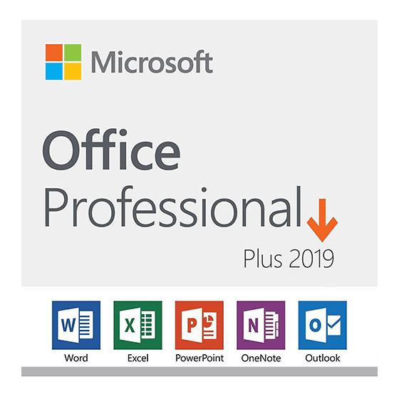 Microsoft Office Pro Plus 2019 - 1 user PC
