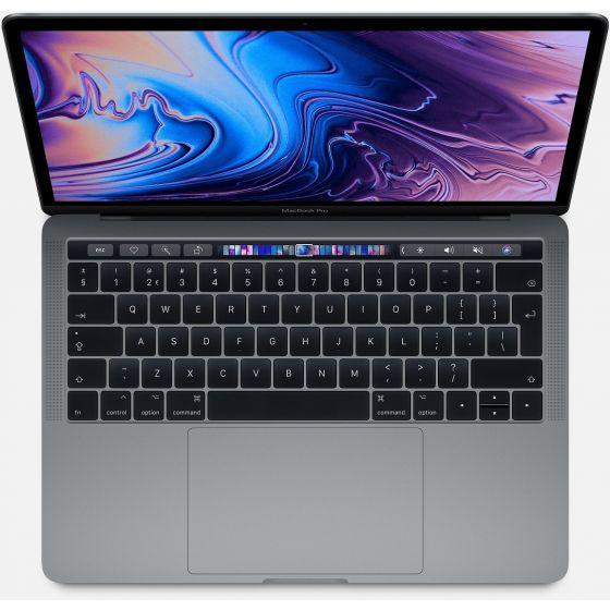 """Apple Macbook Pro 13"""" (2018) Grijs 16GB"""