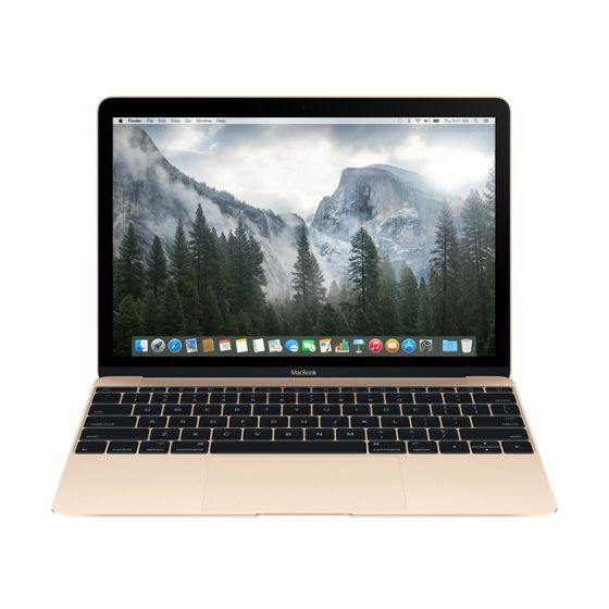 """Apple MacBook 12"""" Goud (2015)"""