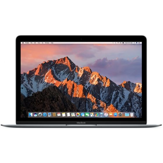 Apple MacBook 12 Grijs (2017) - Italiaans Toetsenbord