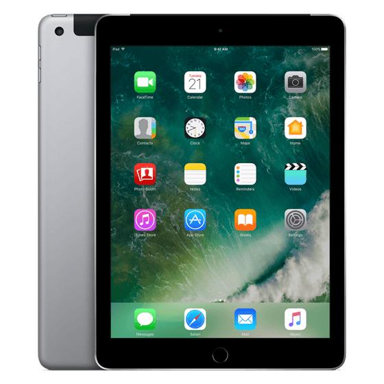 Apple iPad Wi-Fi + Cellular 128GB (2017) Grijs