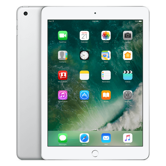 Apple iPad Wi-Fi 128GB (2017) Zilver