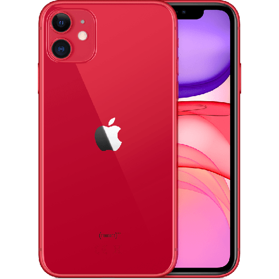 iPhone 11 64GB Rood