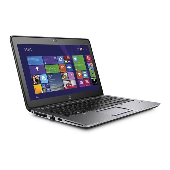 HP Elitebook 840 G2 i7-5e gen
