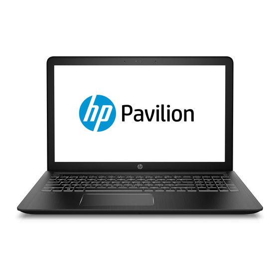 HP Pavilion Power 15-cb083nd