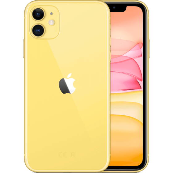 iPhone 11 256GB Geel