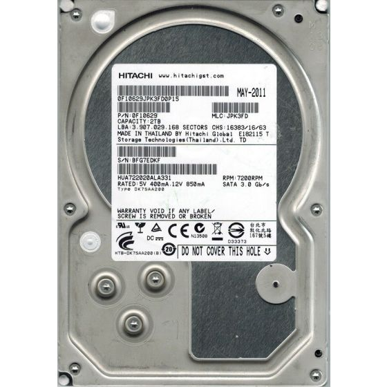 HGST HUA722020ALA330 2TB