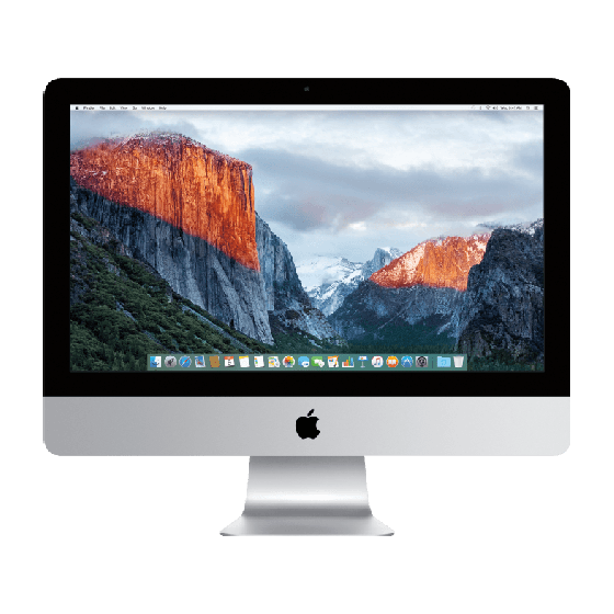 "Apple iMac 21.5"" Zilver 4K (2015)"