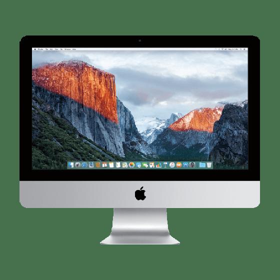"""Apple iMac 21.5"""" Zilver 4K (2015)"""