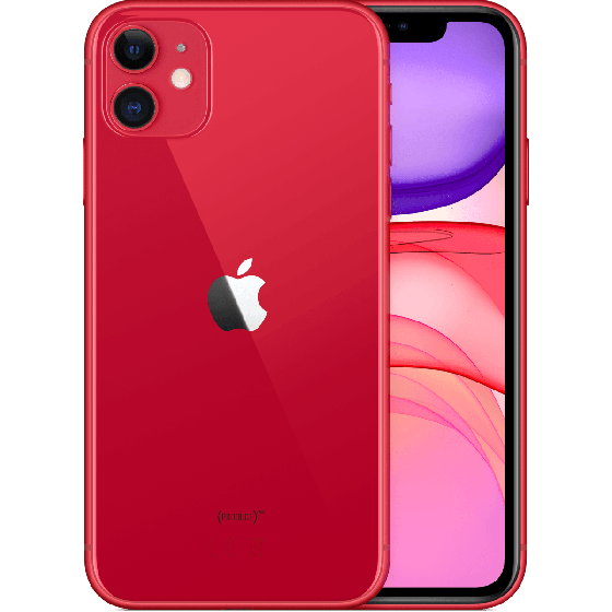 iPhone 11 256GB Rood