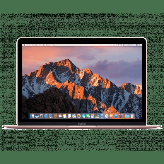 "Apple MacBook 12"" Rose Gold (2017) - Italiaans toetsenbord"
