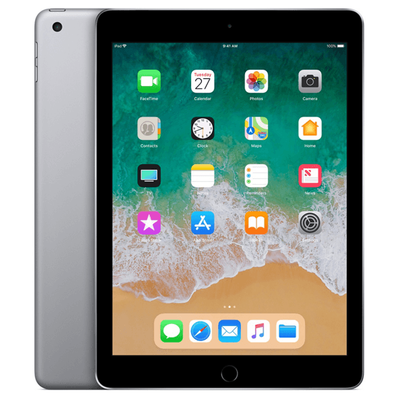 Apple iPad 6th  Wi-Fi 32GB (2018) Grijs