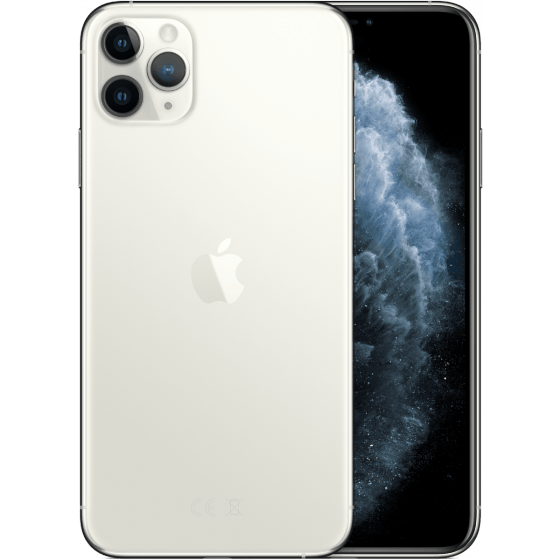 iPhone 11 Max Pro Zilver Wit 256 GB