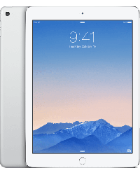 iPad Air 2 64GB Zilver Wit